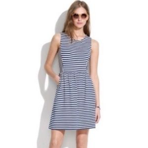 Madewell - Striped Sleeveless Afternoon dress - S